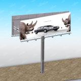 Disegno materiale del tabellone per le affissioni della pubblicità LED del metallo