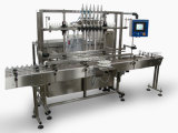 Liquide automatique de machine de remplissage pour des sacs de bidons de bouteilles