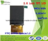 2,8 pollici ad alta luminosità 240X320 / Wide modulo LCD TFT angolo di vista