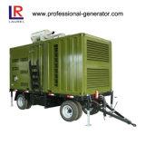 Gerador móvel do reboque do gerador para o trabalho ao ar livre ou da mobilidade