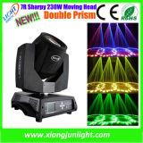 luz móvil de la viga de la pista 230W 7r Sharpy de la viga de 230W 7r