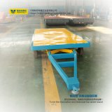 Base plana resistente del uso de la fábrica de la industria que maneja el carro