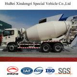 camion di consegna della betoniera dell'euro 3 del benz di 10cbm Foton Auman Daimler