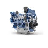 Китайский морской двигатель дизеля с коробкой передач