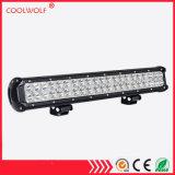 도로 빛 모는 빛 LED 안개등 빛 배 점화 떨어져 LED 표시등 막대 20 인치 126W LED 일 백색 반점 플러드 결합 LED 바