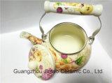 Chaleira 2.5L ajustado do Teapot do esmalte da chaleira do esmalte