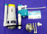 Rubor dual plástico de la válvula del terraplén de la válvula de desagüe y de la válvula de enchufe 3 pulgadas