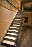 실내 계단 Frameless 유리제 방책