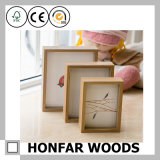 Cadre de tableau en bois de cadre d'ombre de simplicité