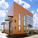 Edifici per uffici prefabbricati del metallo della struttura del metallo