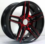 15 Zoll-Hyper schwarze Felgen-Legierungs-Räder