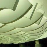 El panel de pared de aluminio de cortina del panel de aluminio del azulejo del techo 3003 H24 20 capa de la garantía PVDF del año incombustible