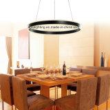1 LEIDENE van de Kleur van de ring het Zwarte Acryl Moderne Licht van de Tegenhanger