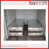 Azotea decorativa revestida del metal del color de acero de Baoshi para el Gazebo