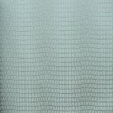 Papel de pared lavable de vinilo de PVC con relieve profundo