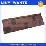 Tuile de toiture résistante en métal de Galvalume de traitement d'empreinte digitale