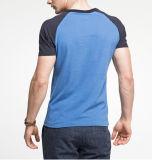 T-shirt à deux tons de nouvelle conception pour hommes