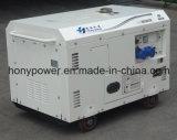 5kw5kVA de draagbare Lucht koelde Enige Diesel van de Cilinder Stille Generator
