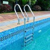 プールのステンレス鋼304のプールの梯子