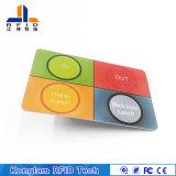 Personalizar o Multi-Cartão esperto do PVC de RFID para o sistema do pedágio da estrada