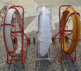 serpent Rod de conduit de Rodder de conduit de fibres de verre de 4.5mm *100m