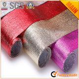Металлической прокатанная пленкой скатерть ткани