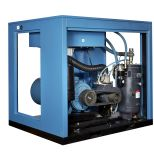 Tipo chinês compressor do parafuso de Oilless da movimentação de correia de ar