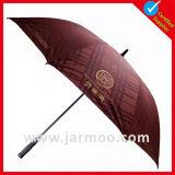 Выдвиженческий складывая зонтик пляжа с изготовленный на заказ логосом