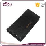 Мешок 4 застежок -молний женщин PU элегантности цветов длинний кожаный морщит бумажники