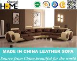 Sofá de cuero italiano del Recliner de la sala de estar moderna de los muebles (HC2002)