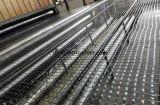 Vetroresina ad alta resistenza Geogrid 100kn/M di concentrazione per il fondo stradale