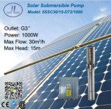 sistema de bomba solar sumergible de la C.C. del acero inoxidable de los 5in