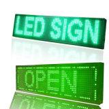 Módulo impermeável ao ar livre 320mm*160mm do indicador de diodo emissor de luz do verde 1/4 de módulo movente de varredura da mensagem do quadro de avisos do MERGULHO do diodo emissor de luz P10