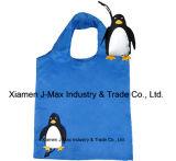 Sacchetto pieghevole amichevole del cliente del pinguino di Eco riutilizzabile, leggero e pratico