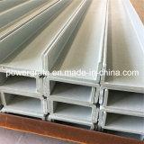 Canal C de fibra de vidro FRP de alta resistência