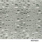 Пленка печати Aqua картины падения воды ширины Kingtop 1m