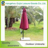 Paraguas dobles desmontables convenientes impermeables de aluminio del jardín de azotea