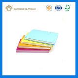 学校の文房具の事務用品の卸売のカスタム安いペーパー練習のノートのノート(カスタム印刷)