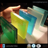 Milky прокатанное стекло /Clear и стекло цвета прокатанное