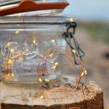 Lâmpada feericamente da bateria impermeável do diodo emissor de luz do micro que decora para o frasco de vidro
