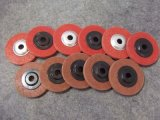 Roda de lustro da aleta do aço inoxidável