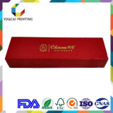 Выполненная на заказ коробка ящика ювелирных изделий упаковывая сползающ бумажную коробку с Inlay