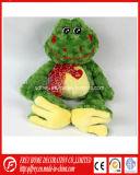 Jouet mignon de grenouille de peluche de vente chaude pour le produit de bébé