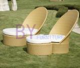 Напольный ротанг PE предводительствует мебель сада отдыха