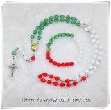 Collier à chaînes de rosaire, jeux de collier, rosaires religieux (IO-crs009)
