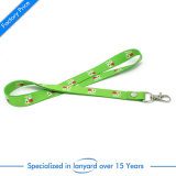 OEM Wholesale Custom Sublimation Lanyard with Carabiner