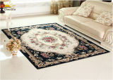 長方形の居間の床の敷物の化学繊維の物質的な刺繍パターン