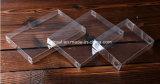 para empaquetar el rectángulo de encargo de la percha del PVC del animal doméstico de los PP del claro