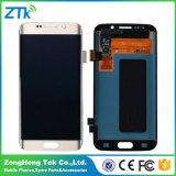 Mobile di qualità dell'OEM/convertitore analogico/digitale dello schermo di tocco dell'affissione a cristalli liquidi telefono delle cellule per il bordo di Samsung S6