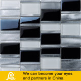 銀製の黒いのガラスモザイクが付いているアルミニウムモザイクおよび金